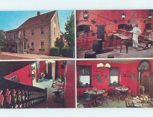 Unused Pre-1980 THE PRETZEL HOUSE RESTAURANT Lititz Pennsylvania PA hn1504