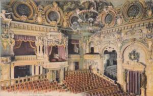 Monaco Monte Carlo La Salle du Theatre
