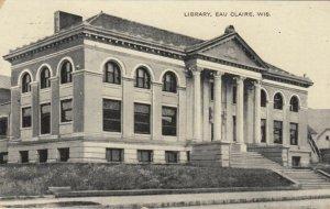 EAU CLAIRE, Wisconsin, 1908; Public Library