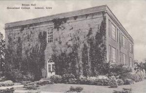 Iowa Lamoni Graceland College Briggs Hall Albertype