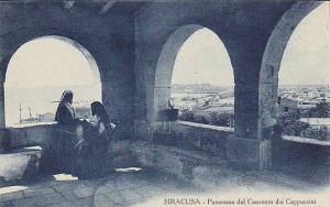 SIRACUSA, Panorama dal Convento dei Cappuccini, Sicilia, Italy, 00-10s