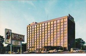 Iowa Waterloo Ramada Inn West First and Washington Streets