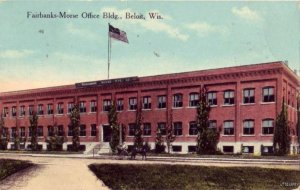 FAIRBANKS-MORSE OFFICE BLDG. BELOIT, WI 1914