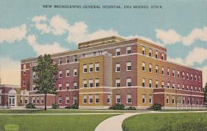 New Broadlawns General Hospital Des Moines Iowa