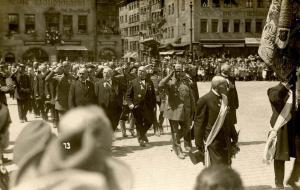 Germany - Weimar. Nazi Rally - RPPC