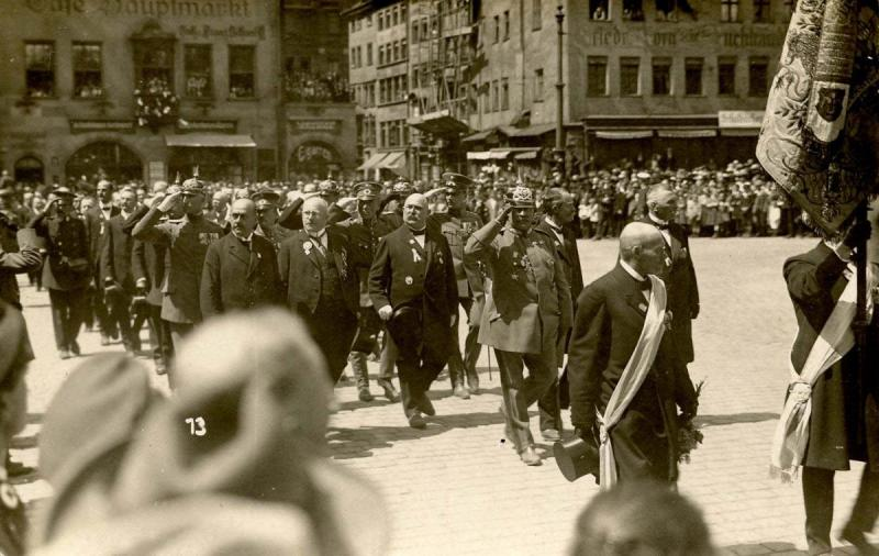 Germany - Weimar. Nazi Rally - RPPC