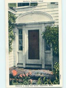 Pre-1980 HISTORIC HOME Edgartown - Martha'S Vineyard Massachusetts MA W3951-12