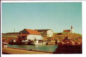 Souris Lighthouse, Prince Edward Island, Canada, Fishing Boats
