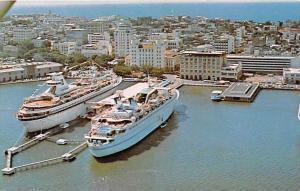 Sea Venture and  Skyward in Port  San Juan, Puerto Rico