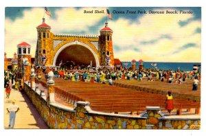 FL - Daytona Beach. Ocean Front Park, Bandshell