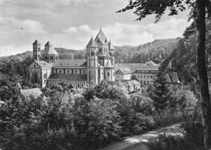 Maria Laach Blick von Nordwesten Kirche, Church Partial view Eglise