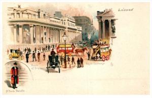 19709 Tuck's no.10  Bank of England, Royal Exchange