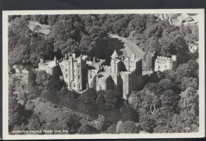 Somerset Postcard - Dunster Castle From The Air    RS15128