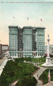 CA - San Francisco, St. Francis Hotel & Union Square