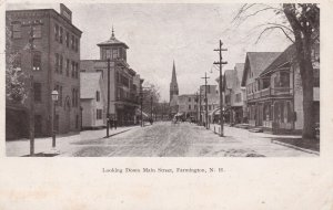 FARMINGTON , New Hampshire, PU-1906; Main Street