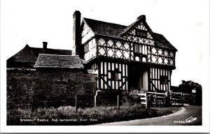 Stokesay Castle UK lot of 5 RPPC vintage postcards Solar interior & exterior