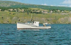 Fishing Boat, HOLYROOD, NEWFOUNDLAND, Canada, 1940-1960s