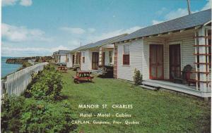 Manoir St. Charles, Hotel- Motel- Cabins, Caplan, Gaspesie, Quebec, Canada, 4...