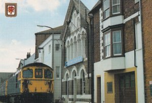 Royal Dorset Yacht Club Weymouth Boat Train Postcard