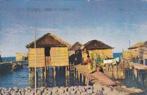 VENEZUELA; Lago de Maracaibo - Viviendas Lacustres, PU-1959