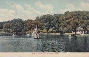 Scenic view, Lake at Wade Park, Cleveland, Ohio, PU-1909
