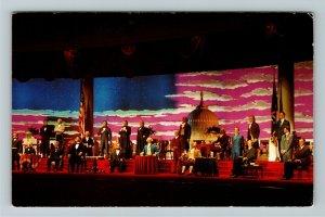 Orlando FL- Florida, Hall of Presidents, Disney World, Chrome Postcard