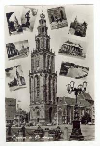 RP, Multi-Views, Groeten Uit Groningen, Netherlands, 1920-1940s