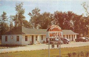 Jackson Michigan 1950s Postcard Travelers Motel