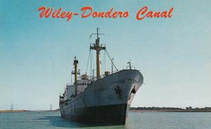 ST LAWRENCE SEAWAY , Ontario, Canada, 1950-60s ; Wiley-Dondero Canal