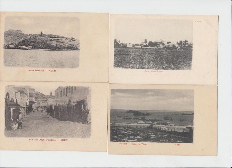 ADEN YEMEN 57 CPA (mostly pre-1905)