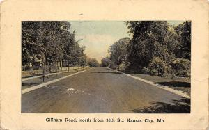 Kansas City MO Residential Area @ 35th Street & Gillham 1907
