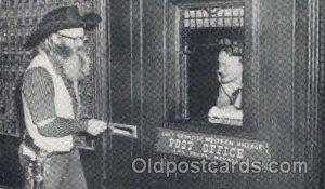 Last Frontier Western Village Post Office, Las Vegas, NV USA 1952