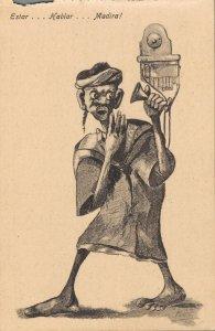 Morocco Caricature Funny Humor 1920´s Estar Hablar Madira! 04.58