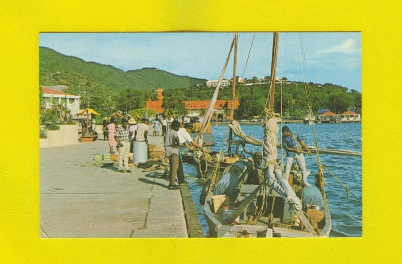 postcard ST. THOMAS U.S. VIRGIN ISLANDS 60years