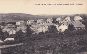 Camp de la Courtine , France , 00-10s ; Vue generale de la 2e Brigade