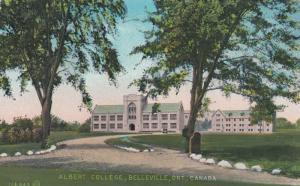 BELLEVILLE, Ontario , 1934 ; Albert college