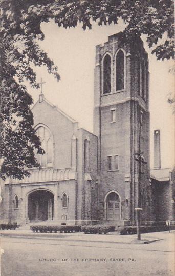 Church Of The Epiphany, SAYRE, Pennsylvania, 1900-1910s