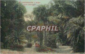 Old Postcard Cochinchine Saigon Botanical Garden