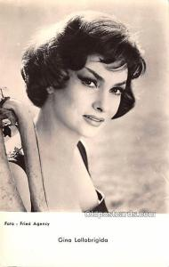 Gina Lollobrigida Movie Star Actor Actress Film Star Postcard, Old Vintage An...