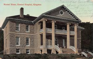 Nurses' Home, General Hospital, Kingston, Canada, Early Postcard, Used