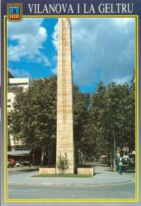 Spain, Vilanova I La Geltru, unused Postcard