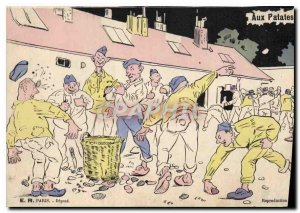 Old Postcard For Potatoes