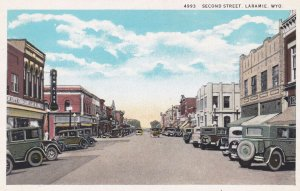 LARAMIE , Wyoming , 00-10s ; Second Street