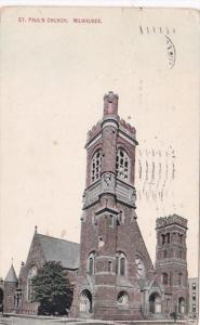 Wisconsin Milwaukee St Paul's Church 1910