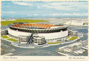 New York Giants Football Stadium at the Meadowlands NJ, New Jersey