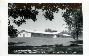 RPPC Postcard; Clearview Nursing Home, Mt. Ayr IA E75E Ringgold County LL Cook