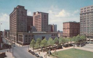 The Rodney Square and Public Library, Wilmington, Delaware, 1940-1960s