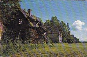 Canada Alma Val-Jalbert Ghost Village