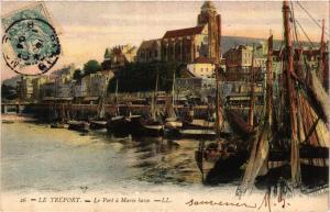 CPA LE TRÉPORT Le Port a marée basse (415872)