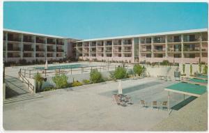 LA JOLLA CA 1958 THE WHITE SANDS Postcard California Postcard